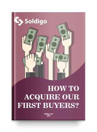 How to acquire our first buyer